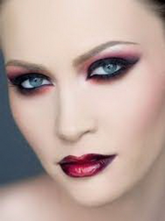 Top Fashion For All: Gothic Makeup Ideas