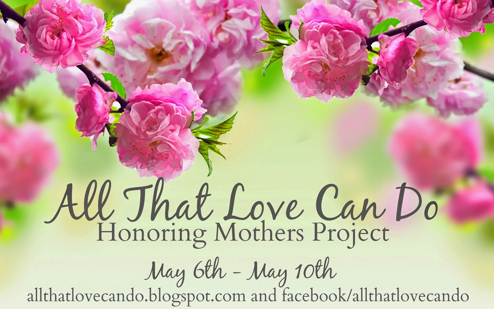all that love can do  honoring mothers project  the letters