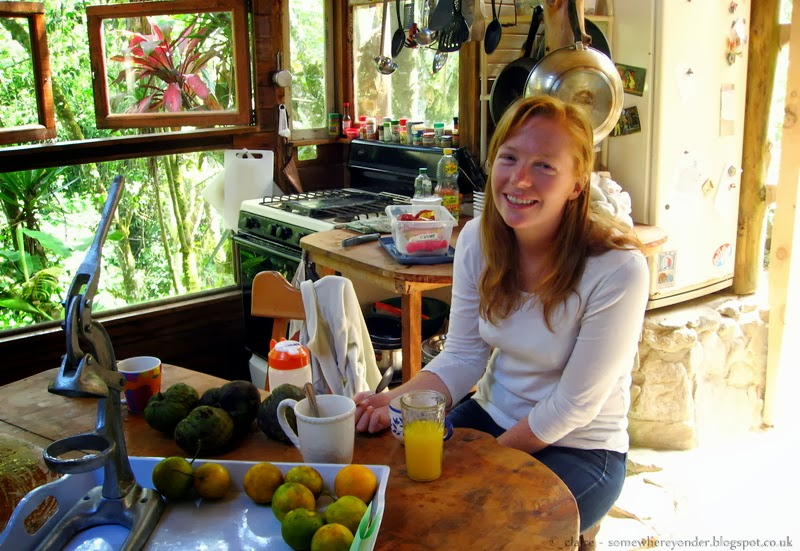 Feeling very relaxed at Casa Mariposa Hostel and Guesthouse - Chirripó National Park, Costa Rica