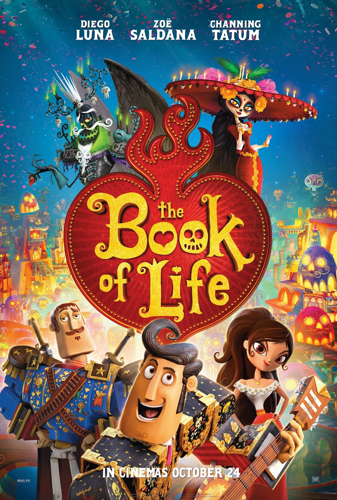 The Book Of Life (2014) HDRip ταινιες online seires xrysoi greek subs