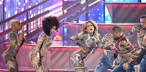 Jennifer Lopez -Anaconda- no AMA melhor do que jamais poderia ter feito Nicki Minaj