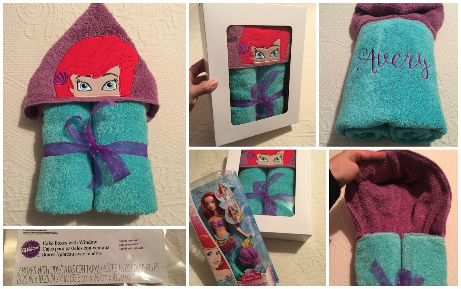Hooded Towel To Make A Gift Set!