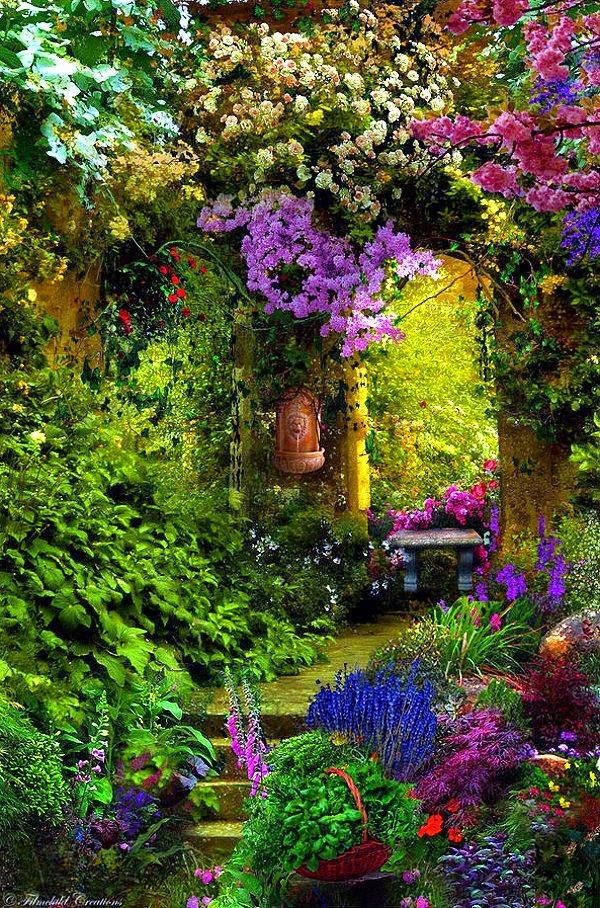 Home garden 40 inspirations pour un jardin anglais for Jardin 0 l4anglaise