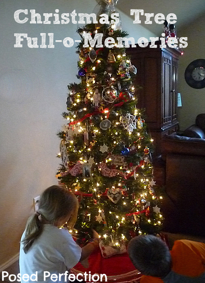 Posed Perfection: Our Christmas Tree Full-o-Memories