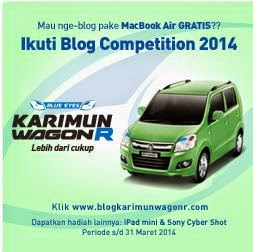 Blog Competition Karimun Wagon R - 2014