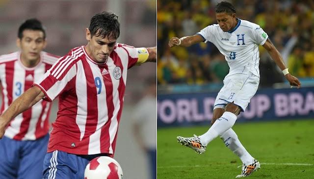 Paraguay vs Honduras en vivo