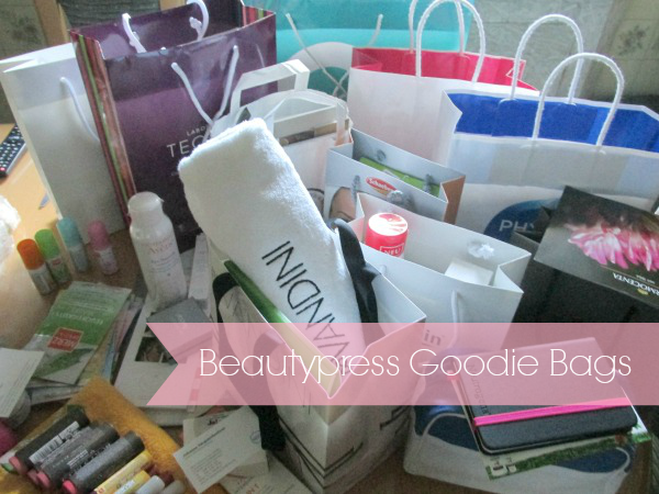 Beautypress Blogger Event Goodie Bags
