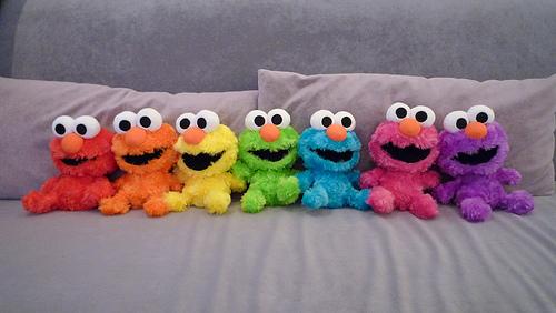 How Cute Elmo N Cookie Monster