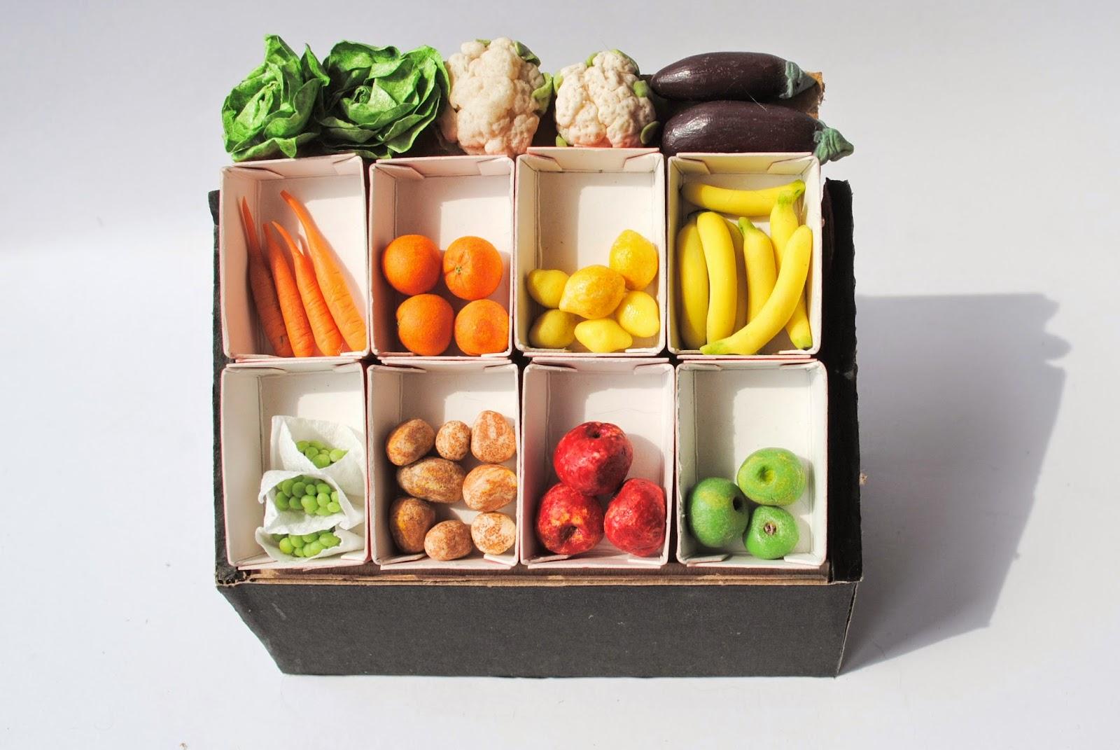 miniaturki owoców i warzyw, miniature vegetables fruit