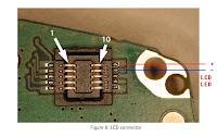 nokia 6100 lights repair