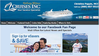 CruiseWithChris Welcome Page