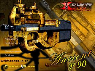 X-Shot Ancient P90 Background