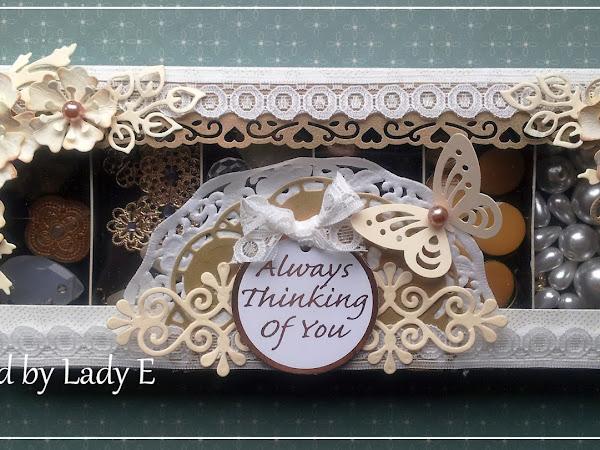 Altered chocolate box / Pudełko w nawej szacie