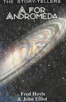 Cover image of the novel A For Andromeda by Fred Hoyle and John Elliot