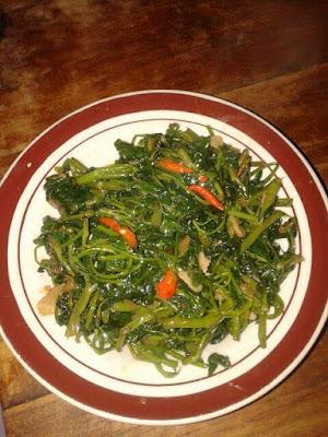 Resep Tumis Kangkung Sederhana Enak Pedas masak tumis kangkung tetap hijau ekonomis cara membuat tumis kangkung istimewa enak dan mudah resep tumis kangkung enak ala restoran