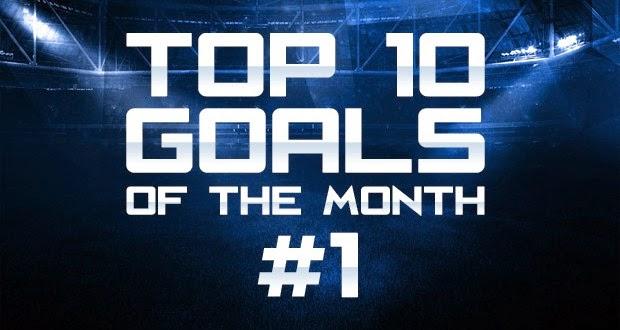 Top 10 Gol bulan Maret 2015
