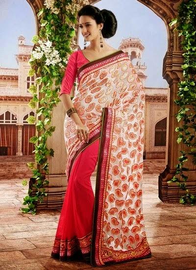Impeccable Saree Designs