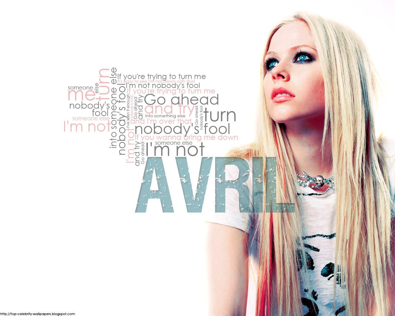 Avril Lavigne 1 Wallpapers: Papel De Parede HD: Wallpapers Avril Lavigne