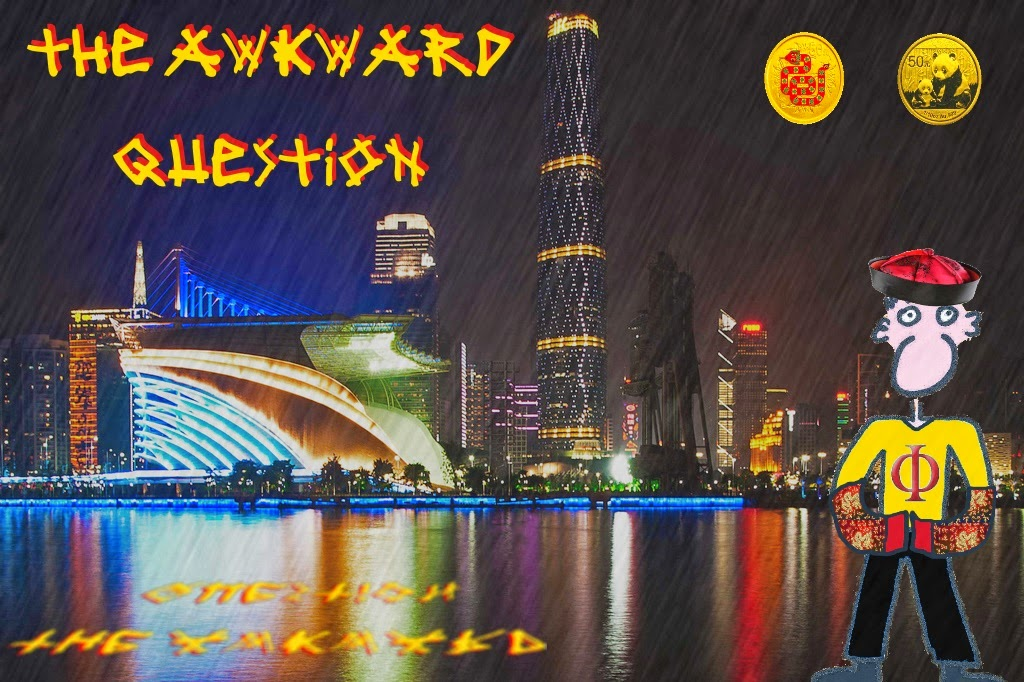 Joe Vitruvius and his new history in Guangzhou: The awkward question.