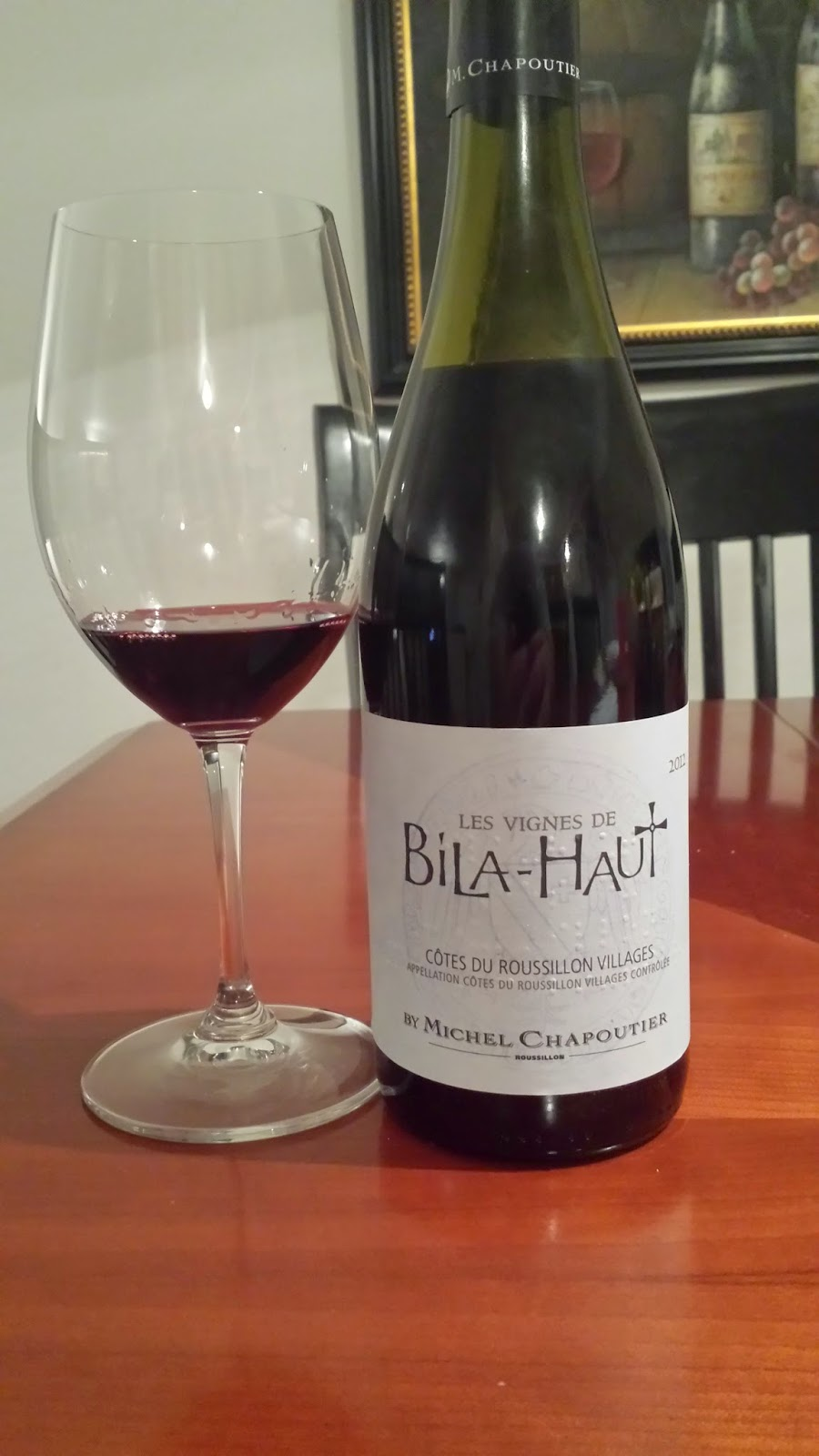 Dan 39 s cellar sips a trio of bila haut - Mac dan orange les vignes ...