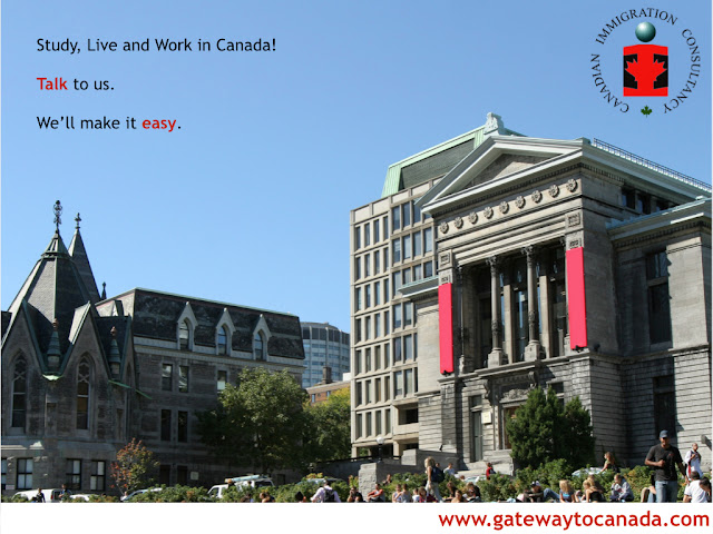 Study Live and Work in Canada