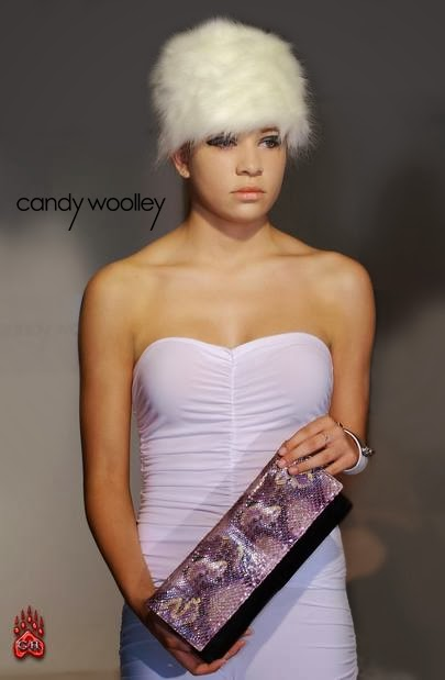 "Candy Woolley Presents ""A Woman of Many Hats"" at Fusion Fashion & Art Week 2013"