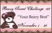 Current Challenge: Your Beary Best