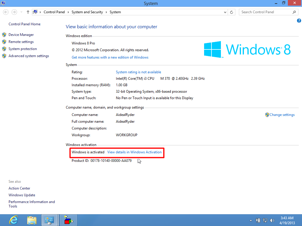 Windows 8 professional vl x64 elgujakviso edition 03.2017