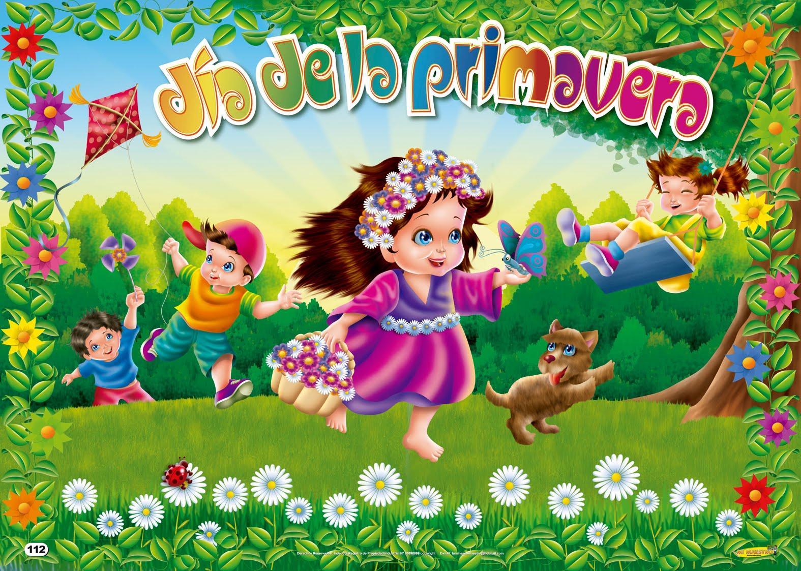 Feliz inicio de la primavera (21 de marzo) - Banco de Imagenes