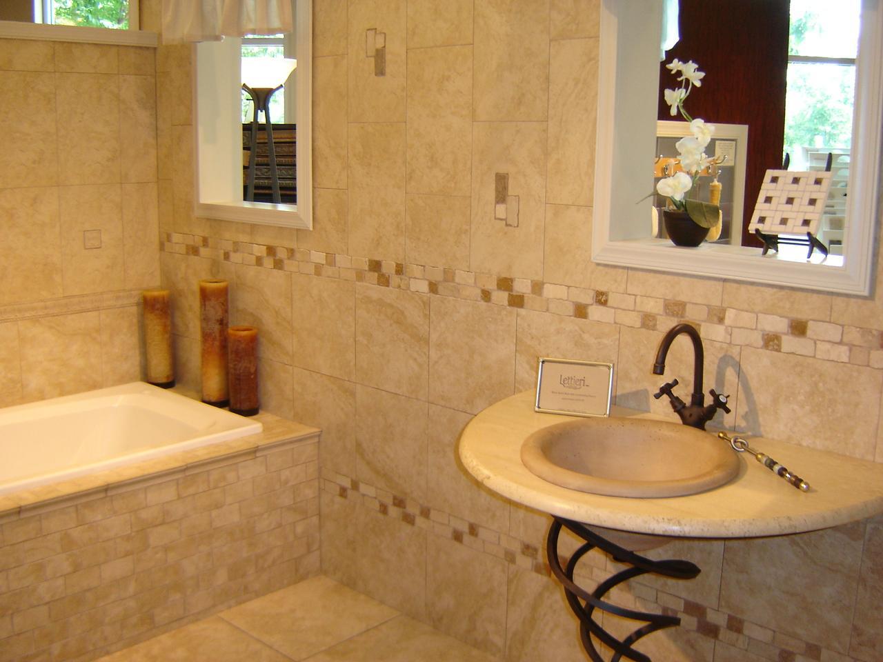 various bathroom tile design