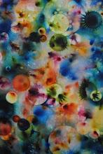 Interstellar, Fireworks on Canvas