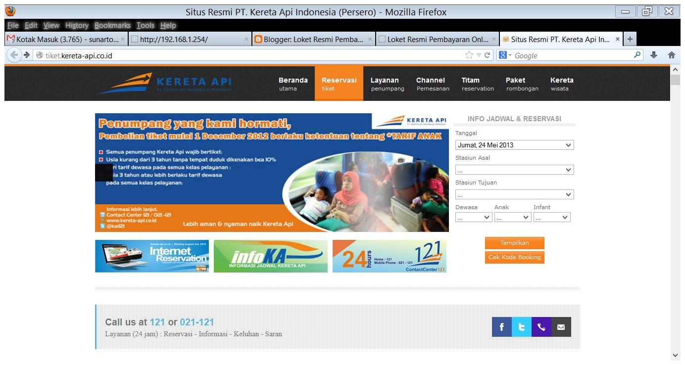 Cek Kode Booking Tiket Kereta Api Loket Resmi Pembayaran Online
