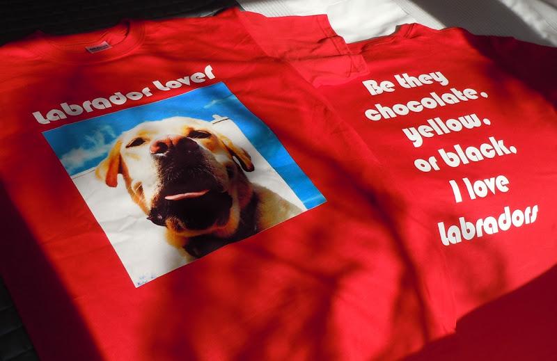 Labrador Lover t-shirts