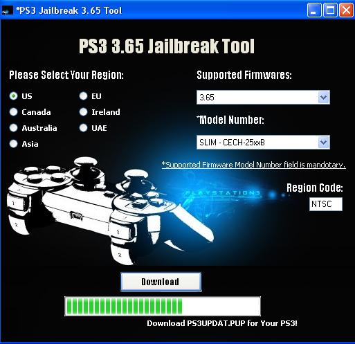 PS3 Flash Tool v450 Easy Downgrades to the Latest Rogero