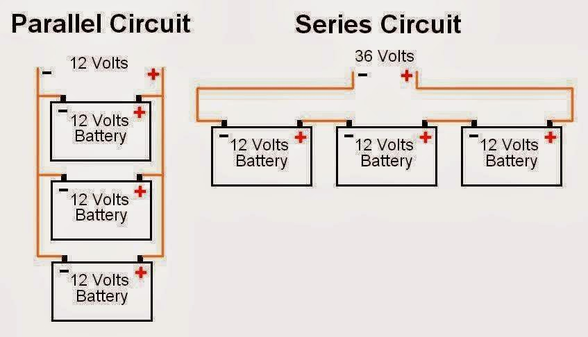 Electrical Engineering World: Battery Connections ...