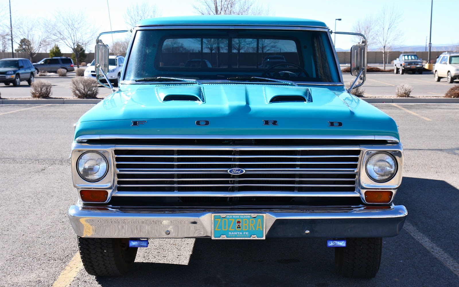 Submission 1969 ford f250 camper special