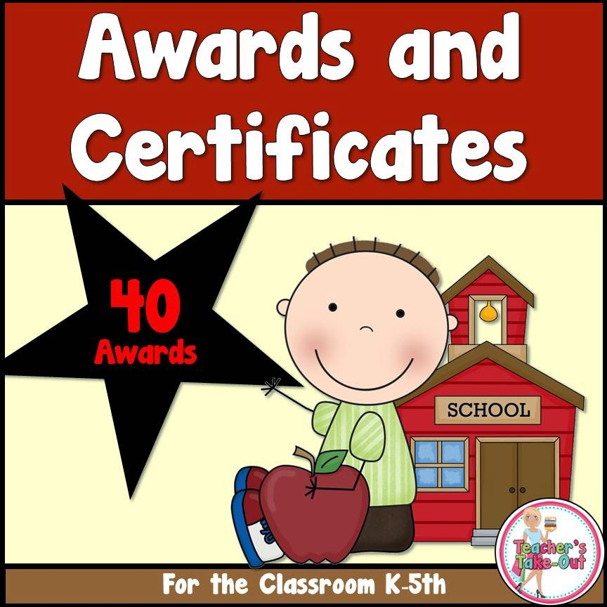 Awards for the Classroom. Free until May 8th 2015