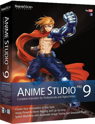 Smith Micro Anime Studio Pro v9