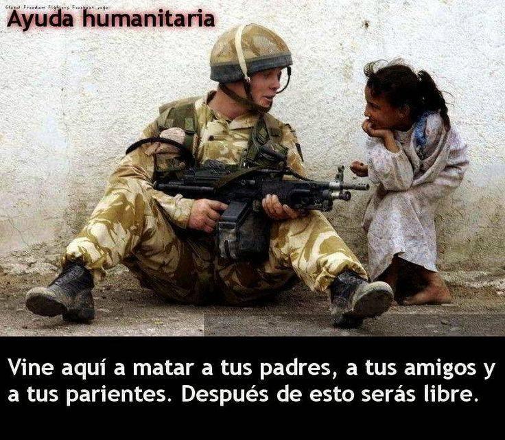 ¿AYUDA HUMANITARIA?