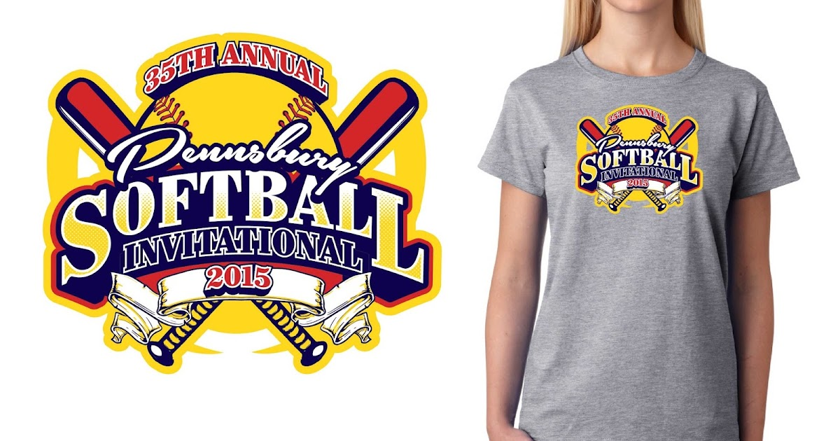 Graphic designs illustrations logo designs and vector for Softball logos for t shirts