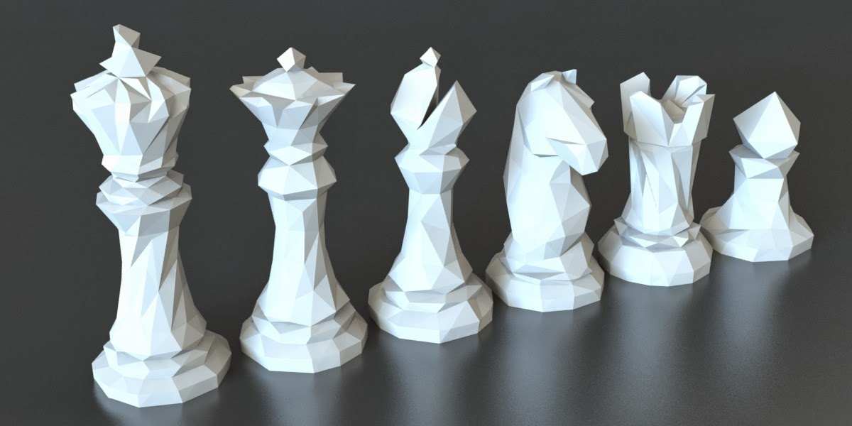 3d printed chess set for 3d printer layouts