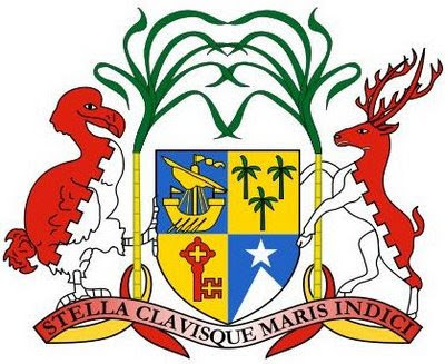 escudo de Mauricio con el dodo