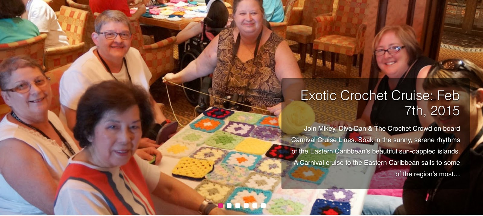Crocheting Cruise : 29. Crochet Cruise. The Crochet Crowd proudly presents Hook?n the ...