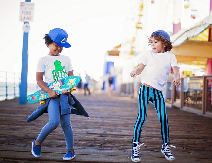 Loola Baby editorial - boys skater style leggings