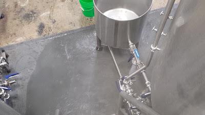 hot water drain