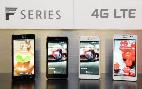 Lg ha presentato ufficialmente la nuova serie F con jelly bean e connettività LTE per il 2013