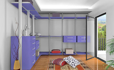 ... purpleni,buka-buka pintu terus nampak walk in closet gitu kekdahnya
