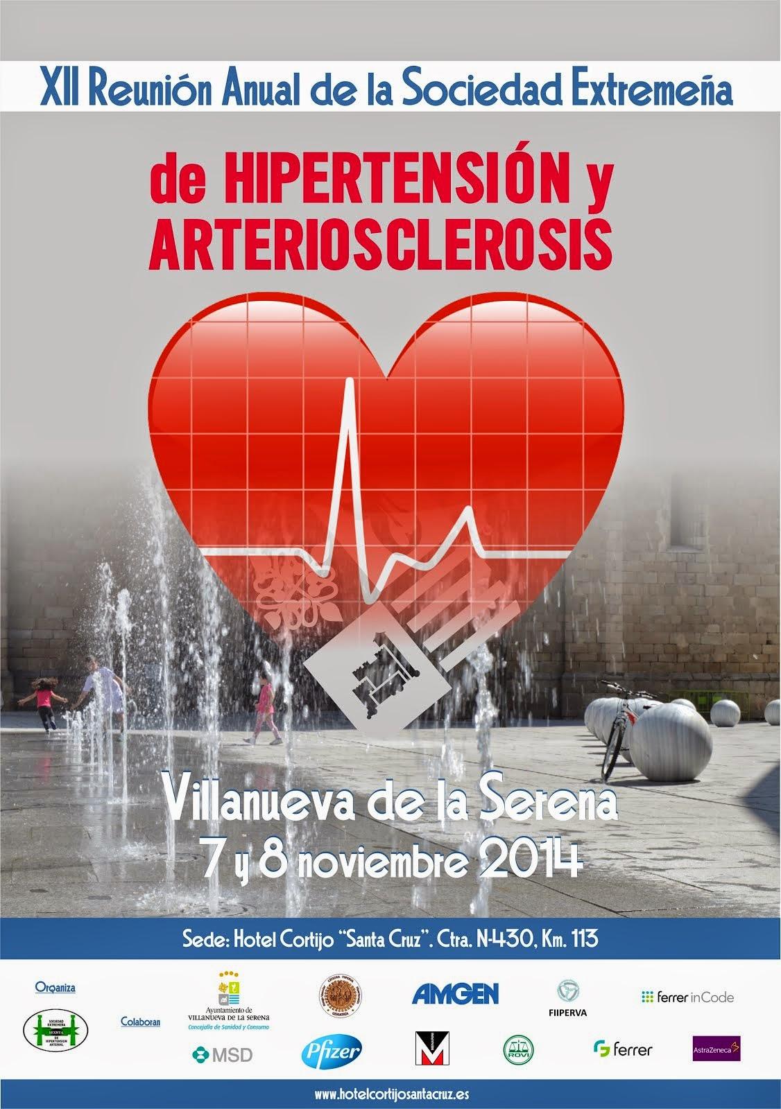 Reunión asociación hipertensión y arteriosclerosis