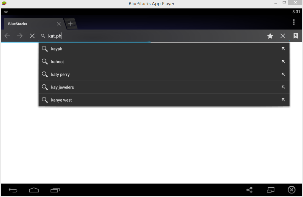 BlueStacks 0.9.6.4092 Rooted Version Capture
