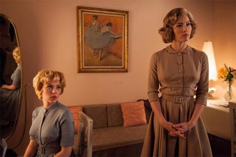 Scarlett Johansson y Jessica Biel en Hitchcock